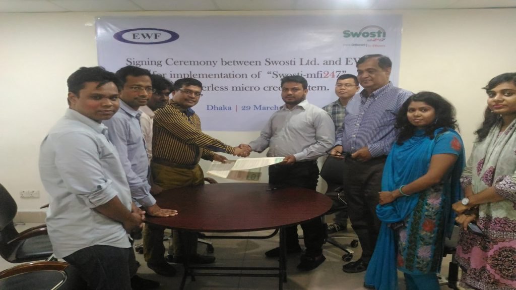 Agreement Signing With EWF
