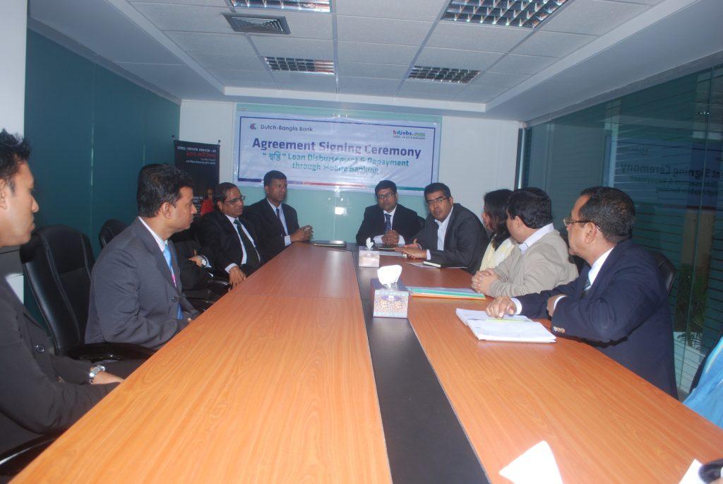 Partnership with Dutch-Bangla Bank Mobile Banking